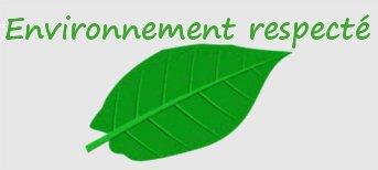 Environnement respecté