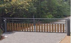 Barrière pivotante grande largeur