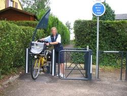 Pass'vélos avec U oscillant