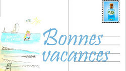 Carte postale vacances Semco