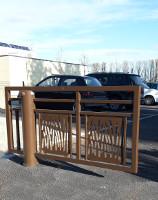 barrière pivotante courte