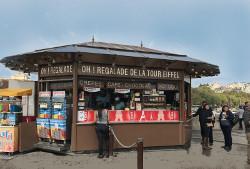 Kiosque à restauration