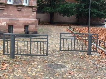 barrières pivotantes courtes