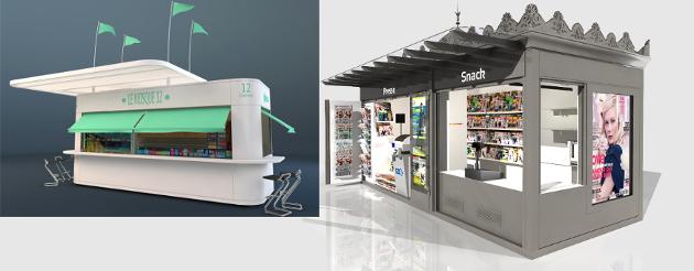 Kiosques Semkiosk concepteur et fabricant