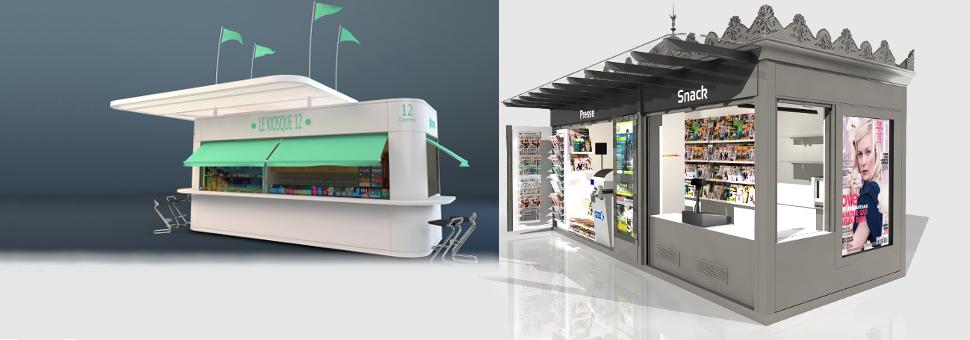 concepteur et fabricant kiosques