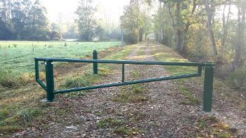 barrière pivotante renforcée