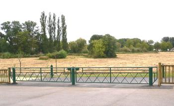 barrières pivotantes grande largeur