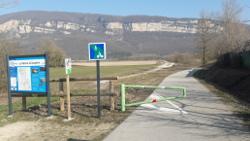 Barrière pivotante type Via Rhona