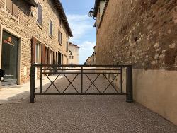 barrière pivotante à pied embarqué